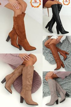 Ballerinas, Knee Boots, Shoes, Fashion, Fashion Styles, Moda, Zapatos, Ballet Flats, Shoes Outlet