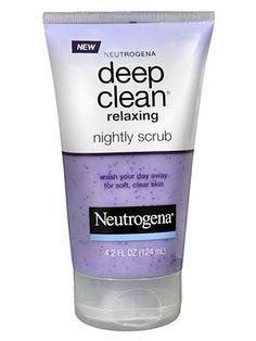 Clean & Clear's Soft Scrub