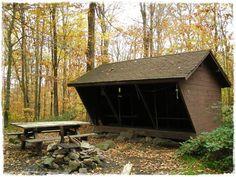 Melville Nauheim Shelter - Hiking The Long Trail - Vermont