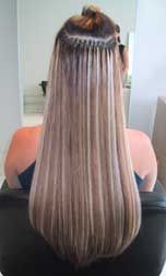 Hair Extensions Before and After Pictures - Fine Hair