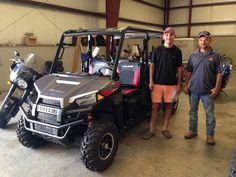 Thank you Bo and James Ramer from Atmore, AL for getting your 2017 Polaris Ranger 570 Crew at Hattiesburg Cycles. #polaris