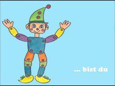 ein traditionelles Kinderlied zum mittanzen und mitsingen, eignet sich gut, um Kleidungsstücke zu lernen - - une chanson enfantine traditionelle pour apprend...
