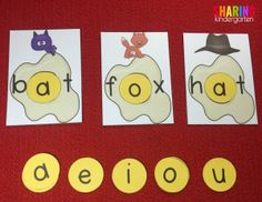 using vowels to make