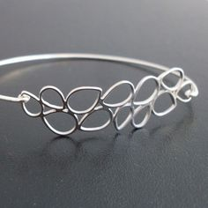 Silver Lace Wedding Bracelet Bridal Lace Bracelet by FrostedWillow, $14.95