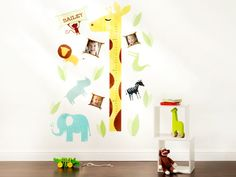 14x42 Growth Chart Decals