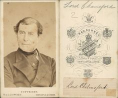 Right Hon, Lord Chelmsford, british politiciian and jurist    #CDV #portraits #Hommes_et_Femmes_de_lettre