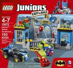 LEGO Juniors Batman, Defend the Bat Cave: Amazon.ca: Toys & Games $30 at walmart (JUDE)