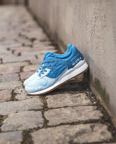 Asics Gel-Lyte III: Blue Heaven/Corydalis Blue