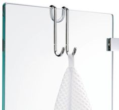 Harmony Hang Up Hook for Shower Cabins, Chrome - contemporary - Towel Bars And Hooks - Modo Bath Shower Towel, Bathroom Towels, Small Bathroom, Bathroom Ideas, Bathroom Hooks, Upstairs Bathrooms, Downstairs Bathroom, Master Bathroom, Washroom