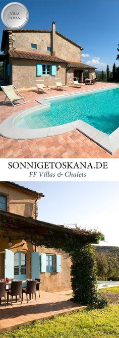 www.sonnigetoskana.de || Villa Tolani || Italien, Toskana, Provinz Pisa nahe Montesecudaio, 5 Schlafzimmer, Privater Pool. Diese schöne Ferienvilla liegt 20 km von Cecina und von der Küste entfernt. Die Villa wurde in 2006 vollständig restauriert und ist ausgezeichnet ausgestattet. #tuscanyvillas #toskanavillen #italyvillas #italianvillas #holidayhomes #urlaub #reise #ferienhaus #vacation #luxuryvilla #luxusvilla #familienurlaub