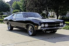 Nice Ford 1970 Ford Torino Cobra J-Code Numbers Matching - Muscle Car Muscle Ford Torino, Best Muscle Cars, American Muscle Cars, Ford Classic Cars, Chevy Classic, Ford Fairlane, Car Ford, Ford 4x4, Ford Trucks