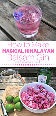 When I created this Himalayan Balsam Gin recipe I had no idea of the surprise that was lying in wait for me. A magical colour changing gin infusion! Gin Recipes, Raw Food Recipes, Cocktail Recipes, Pimms O Clock, Kitchen Witch, Himalayan, Food Gifts, Creative Food, Drinks