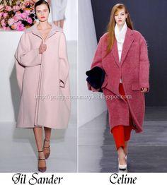 oversized coats F/W 2012/13