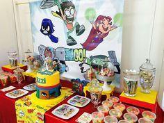 Teens titans go Birthday Party Ideas | Photo 1 of 5