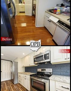 Grantie Cabinets and Kitchen Remodel by Ohio Property Brothers ...