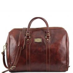 Luxembourg - Travel leather bag - TL141024 - Tuscany Leather