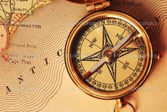Image result for antique  compass