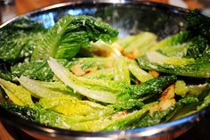 Pioneer Woman's Caesar Salad {One of my favorite things; I even eat it for a snack!}