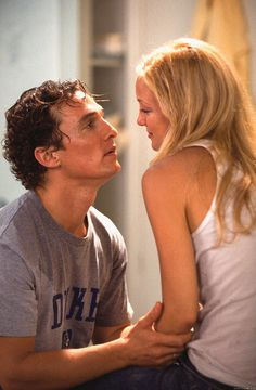 How to Lose a Guy in Ten Days. Will forever be one of my favorites. Love Kate Hudson and Matthew McConaughey.