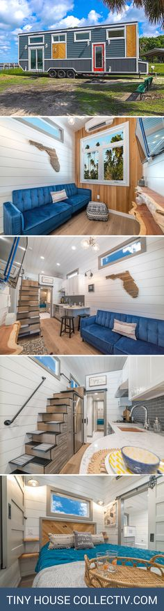 The Lee: a 330 sq ft tiny house from Moveable Roots