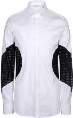 Shop Men's Neil Barrett Shirts on Lyst. Track over 2066 Neil Barrett Shirts for stock and sale updates. Nigerian Men Fashion, African Fashion, Muslim Men Clothing, Casual Shirts For Men, Men Casual, Sewing Collars, Mens Fashion Wear, Boucle Jacket, Pant Shirt