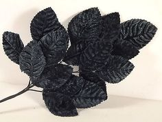 New Velvet Leaves Navy Blue Millinery Hats Costumes Fascinator Crafts Bouquets