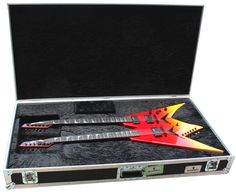Dean USA Dave Mustaine VMNT Double Neck Guitar Blood Lust (Full Body Guitar With Case)