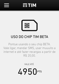Pontuação do chip....