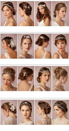 30 Wedding Hairstyles For Brides New: Inspire You We have selected for you a collection of the most beautiful wedding hairstyles to inspire you. Beautiful hairstyles married according to the latest trends hairstyles New Hairstyle Trends. Wedding Hairstyles For Long Hair, Wedding Hair And Makeup, Wedding Hair Accessories, Bridal Hair, Hair Makeup, Bride Hairstyles With Veil, Hair Wedding, Bohemian Hairstyles, Beautiful Hairstyles