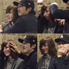 I dont know why people put watermark to other person photos #carlgrimes #chandlerriggs #stevenyeun #carlgrimes glennrhee #twd #thewalkingdead
