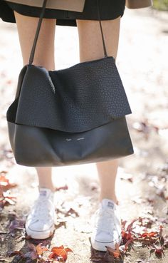 Celine All Soft Bag // via Could I Have That I want bag AND boots ...