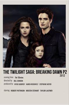 Twilight Poster, Twilight Movie, Twilight Saga, Breaking Dawn Movie, Twilight Breaking Dawn, Iconic Movie Posters, Iconic Movies, Posters Vintage, Vintage Movies