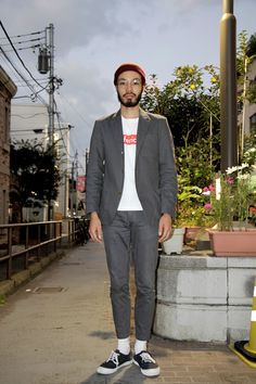 【STREET SNAP】松尾 淳也 | WISM ショップ店員 | ストリートスナップ | 原宿(東京)| Street Snap, Men Street, Sharp Dressed Man, Well Dressed Men, Fashion Men, Street Fashion, Men's Style, Cool Style, Style Snaps