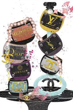 Coco Chanel Wallpaper, Chanel Art, Chanel Canvas, Hermes, Versace, Fashion Wall Art, Fashion Books, Canvas Art Prints, Printable Art