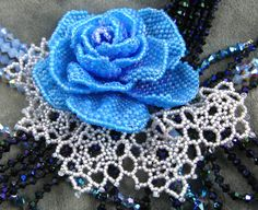 Old-World Roses - beading pattern for download PDF tutorial. $15.00, via Etsy.