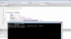Finally, we are going to see how to force the compiler to start a new line using the newline character and how to display a backward slash on the command pro. The C Programming Language, Programming Languages, C Programming Tutorials, Coding, Programming