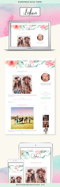 Stereo WordPress Theme by Boutique Web Design Studio   Ideal for a ...