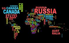 i want this print!world typography Mexico maps mundo tierra / 1440x900 Wallpaper