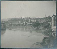Italia, Roma. Tevere, ca. 1905  vintage silver print. Italy. Tiber  Tirage…