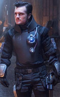 Josh Hutcherson publicity still for Future Man