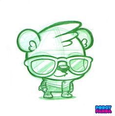 Panda Swagger Sketch | Flickr: Intercambio de fotos