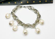 Bettelarmband+Silberarmband+Perlenarmband+MA120+von+Atelier+Regina++auf+DaWanda.com