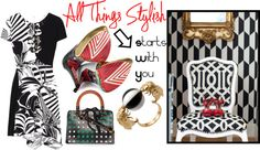 """All Things Stylish - How Your Home Can Inspire Your Style"" by latoyacl ❤ liked on Polyvore"