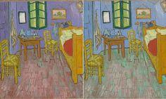 Science peers into Van Gogh's Bedroom to shine light on colors of artist's mind