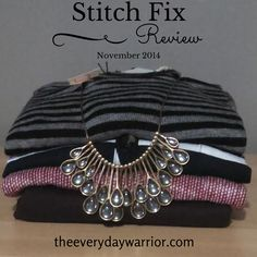 November 2014 Stitch Fix Review | The Everyday Warrior