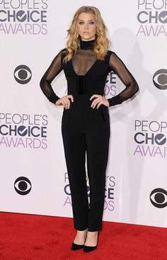 Natalie Dormer in Roland Mouret // See the top 10 best dressed at the People's Choice Awards 2016