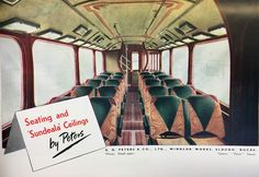 GD Peters of Slough made many interior fittings and finishes found on British passenger vehicles and trains as seen here in this 1946 advert. http://ift.tt/2hS7SSv