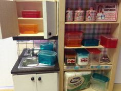 Small storage boxes for your doll's House and Lundby House