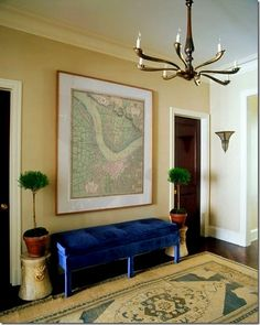 framed map - I'd like to find a historical map of this area for our home.