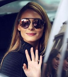 The Olivia Palermo Lookbook : Olivia Palermo at Elie Saab Spring/Summer 2016 Show in Paris